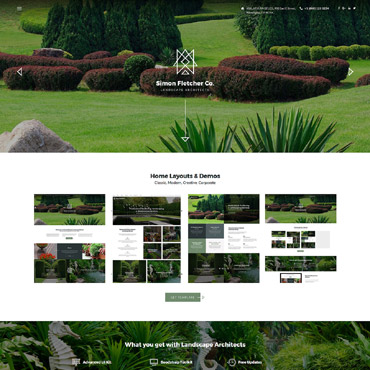 Website Template № 62143