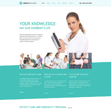 Website Template № 62155