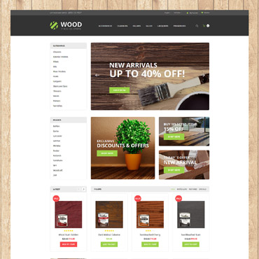 Website Template № 62201