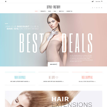 Website Template № 62235