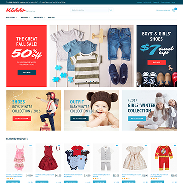 Template Familie Magento #62280