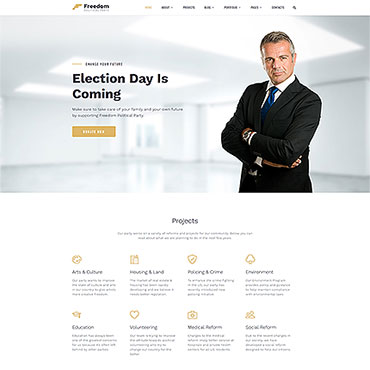 Website Template № 62320
