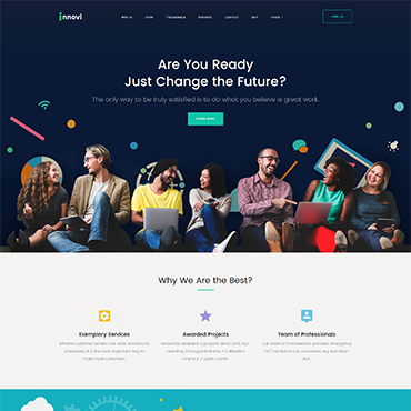 Website Template № 62355