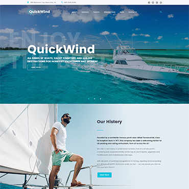 Website Template № 62365