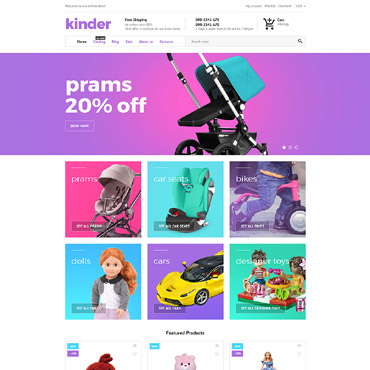 Website Template № 62403