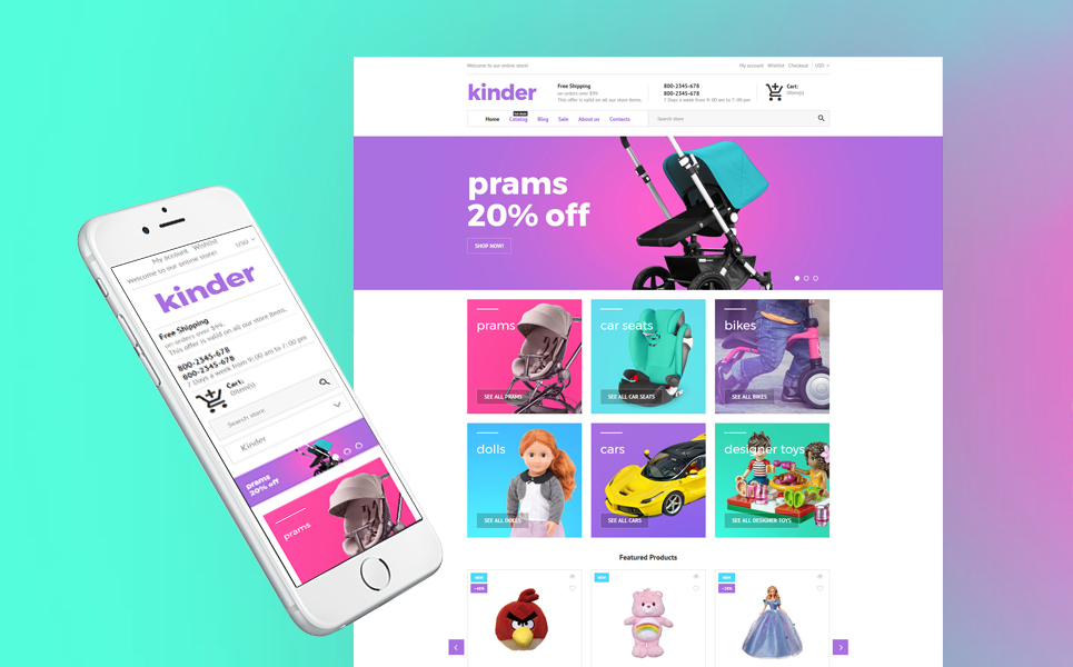 Kinder - Toy Store Shopify Theme