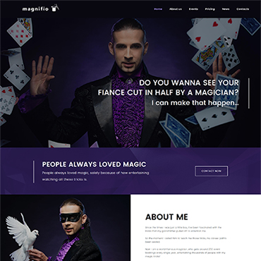 Website Template № 62413