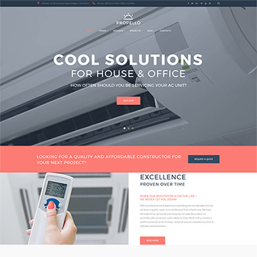 Website Template № 62487