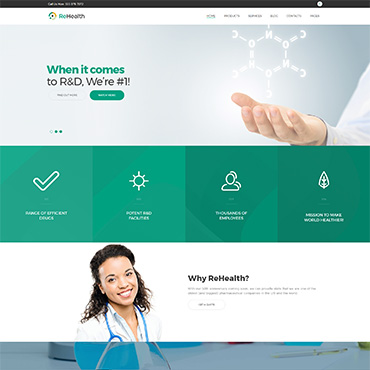 Website Template № 62499