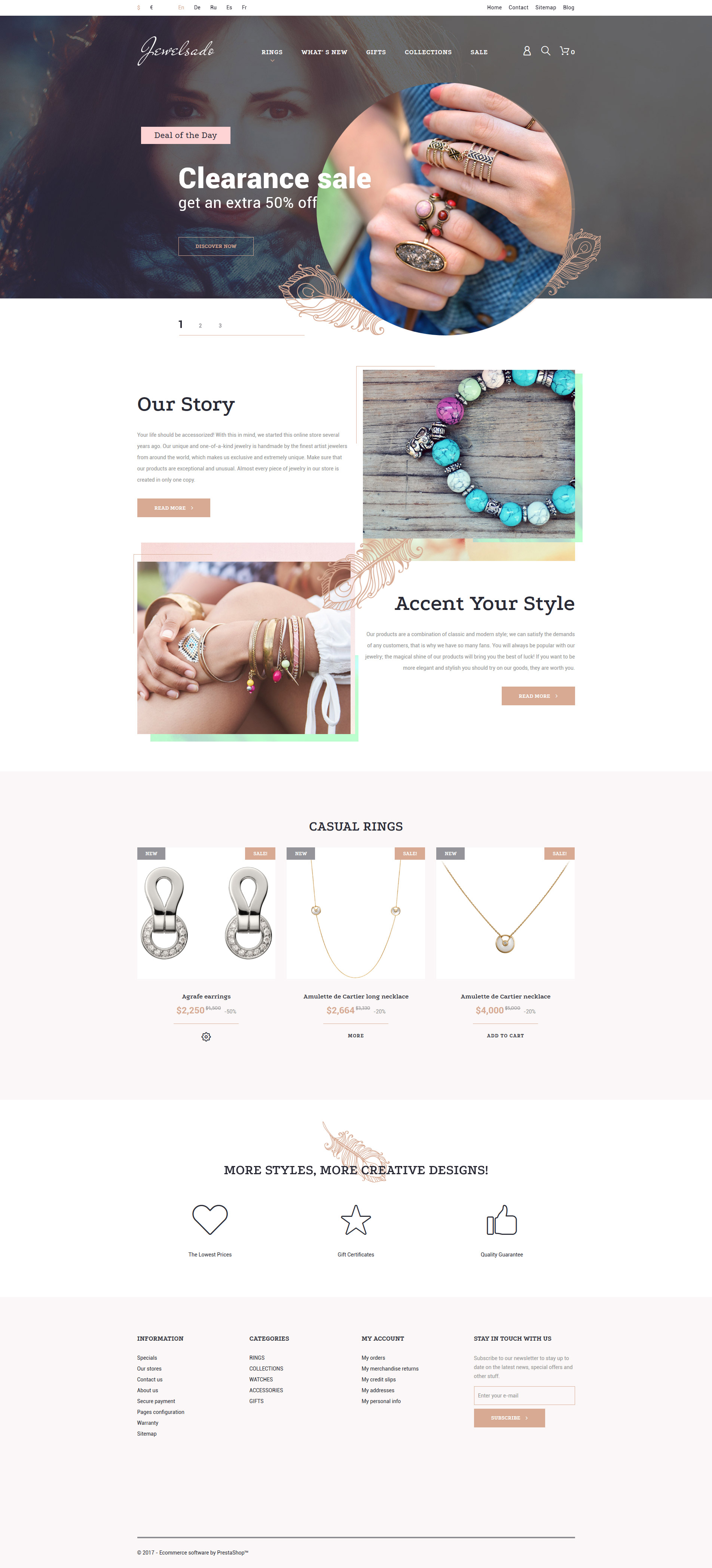 Jewelsado PrestaShop Theme