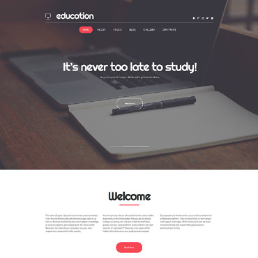 Website Template № 63341