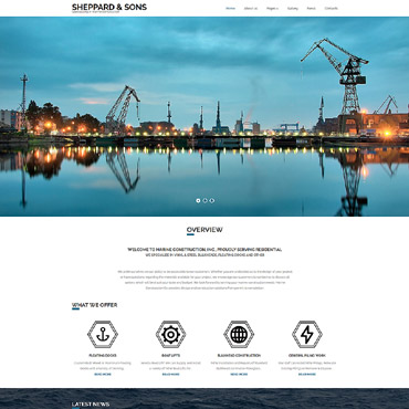 Website Template № 63343
