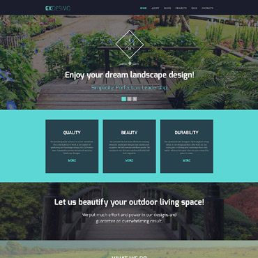 Website Template № 63344