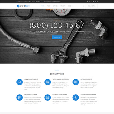 Website Template № 63395