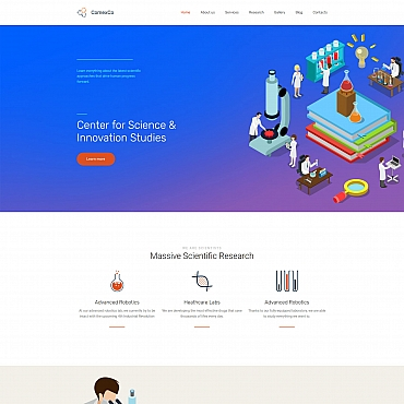 Website Template № 63455