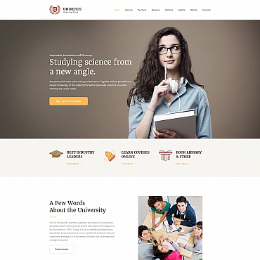 Website Template № 63467