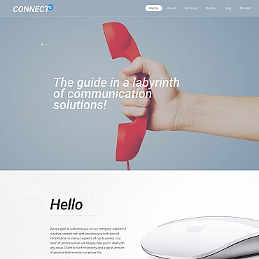 Website Template № 63480