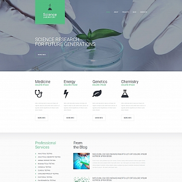 Website Template № 63487