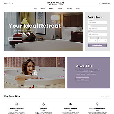 Website Template № 63579