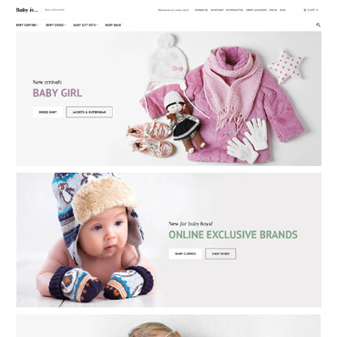 Template Familie Magento #63587