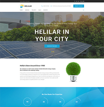 Website Template № 63663
