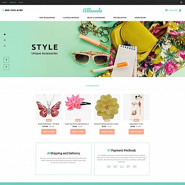 Template MotoCMS Ecommerce Templates #63717