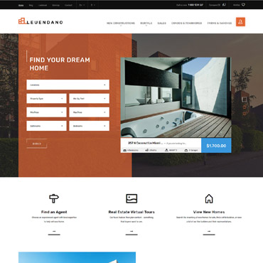 Real estate website templates realtor website templates and 139 pronofoot35fo Image collections