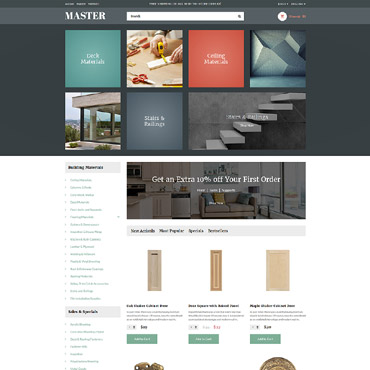 Website Template № 63857