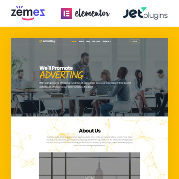 Template Afaceri WordPress #63935