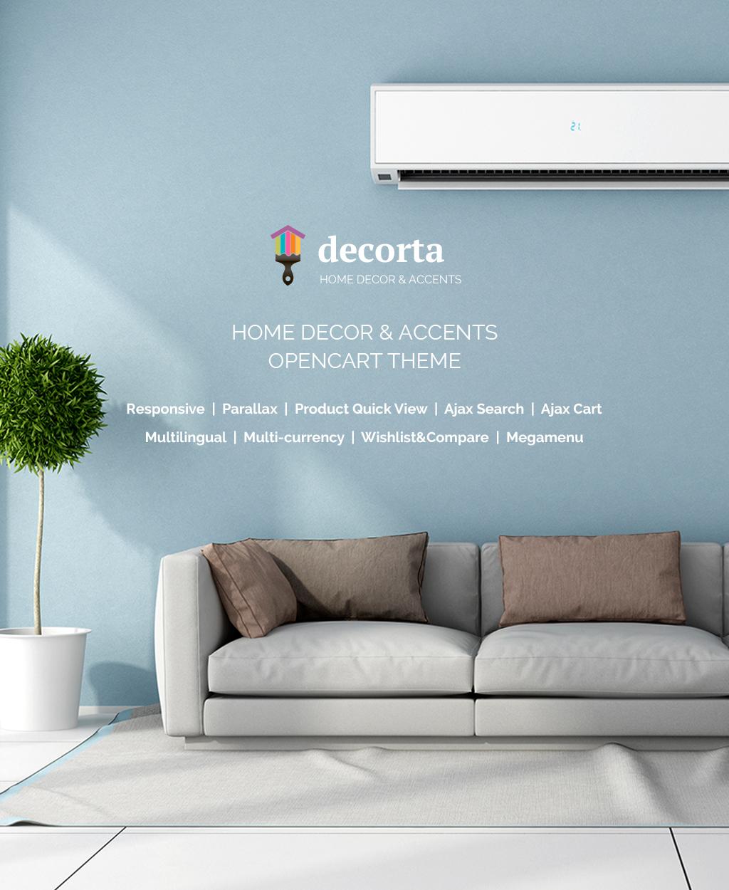 Home Decor Responsive OpenCart Template