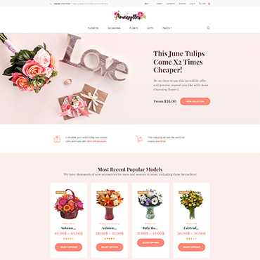 Website Template № 64038