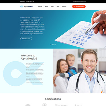 Website Template № 64100