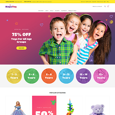 Website Template № 64135