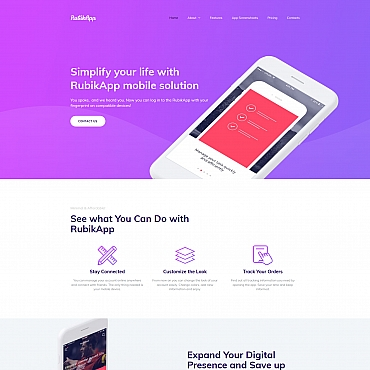Website Template № 64210