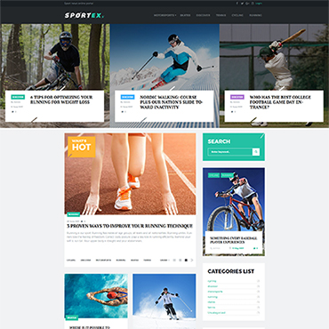 Website Template № 64395
