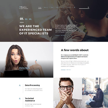 Website Template № 64397