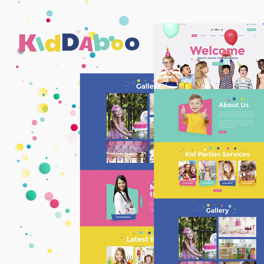 Kiddaboo - Kid Parties Services Responsive WordPress Theme WordPress Theme