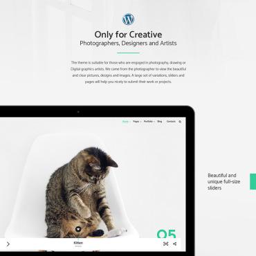 Template Artă și fotografie WordPress #64556