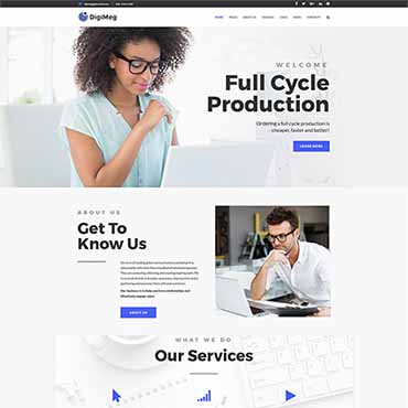 Website Template № 64559