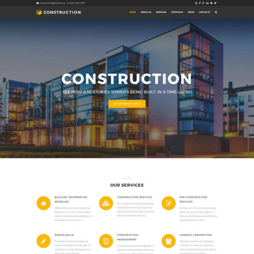 Website Template № 64645