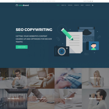 Website Template № 64647