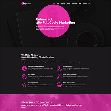 Website Template № 64661