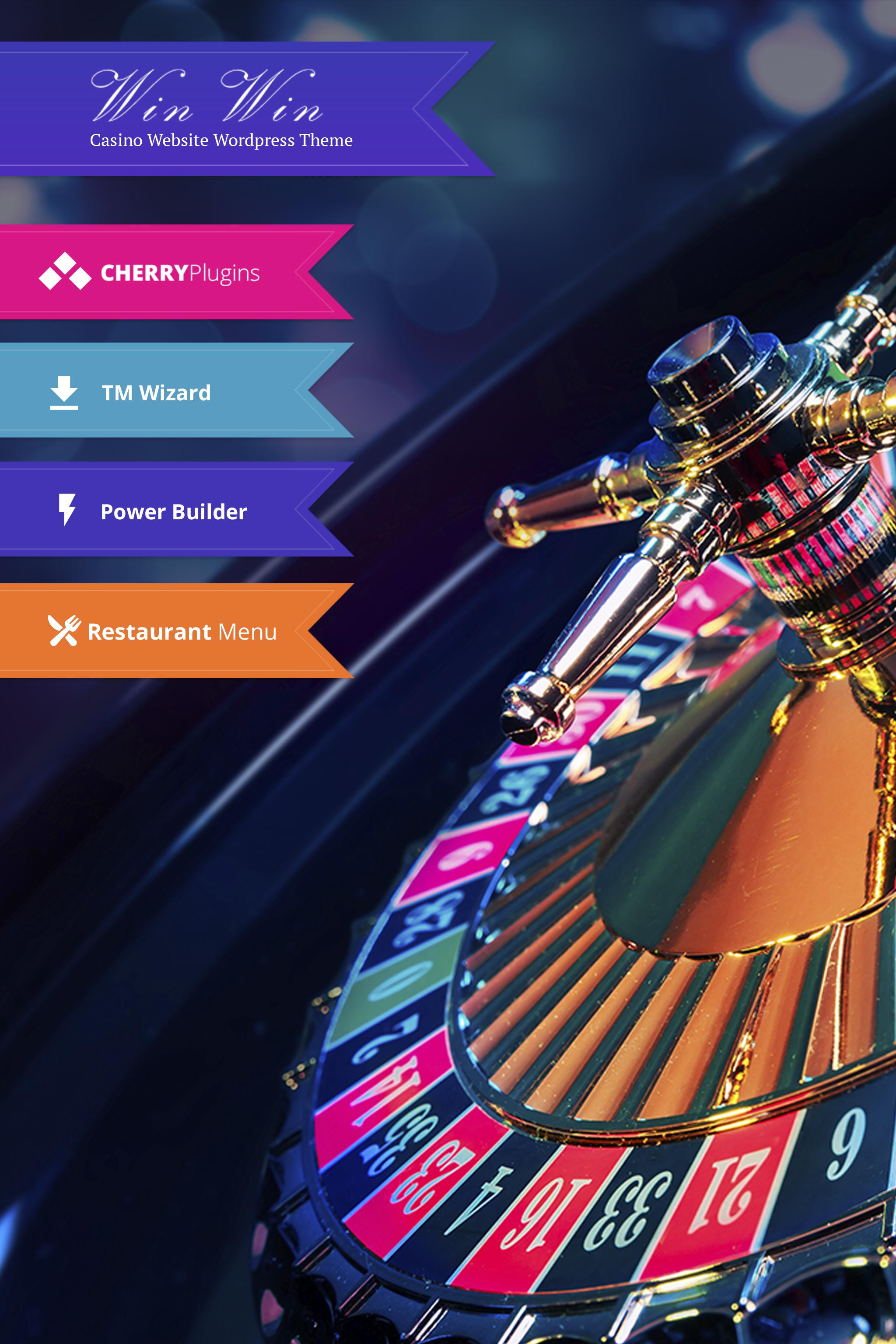 WinWin - Casino Website WordPress Theme WordPress Theme