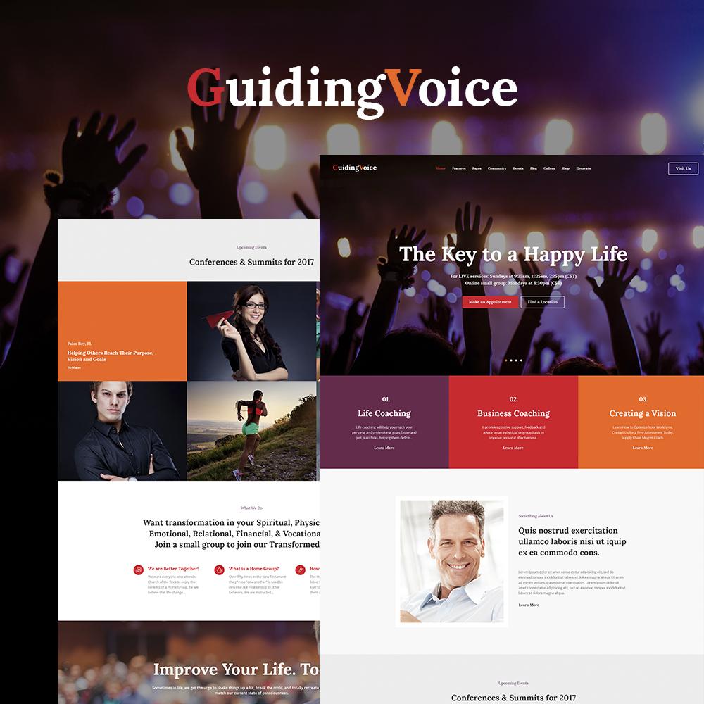 Guiding Voice - Life Coach WordPress Theme WordPress Theme