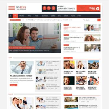 Template Mass-Media Joomla #64767