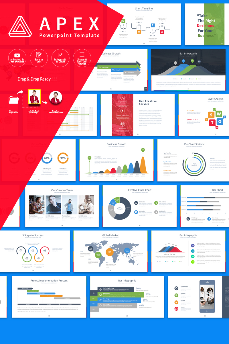 Apex Presentation PowerPoint Template
