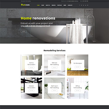 Interior Decor and Remodeling Web Templates