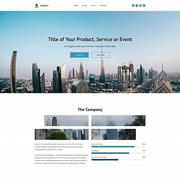 Website Template № 65027