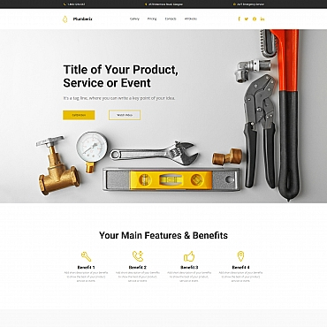 Website Template № 65034