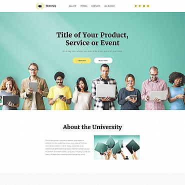 Website Template № 65040